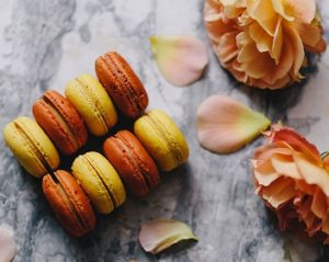 Autum Time Salted Caramel Macarons