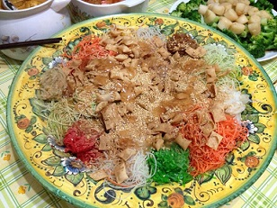 Chinese New Year Lo Hei