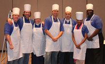 Management Team Building Event - Corporate Cooking