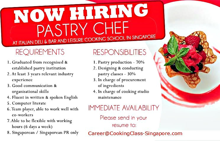Baking And Pastry accounting foundation course