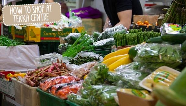 Tekka Wet Market Ingredient Shopping