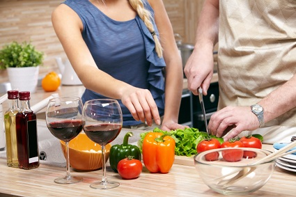 Valentine's Day Cooking Class Singapore | Cooking Date in Kitchen